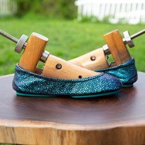 NIB Hand-Painted Custo Color-shifting Tieks Size 5